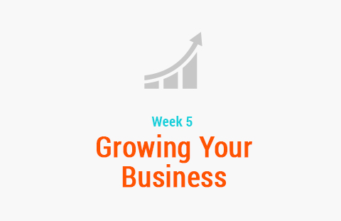 Week 5: Growing Your Business