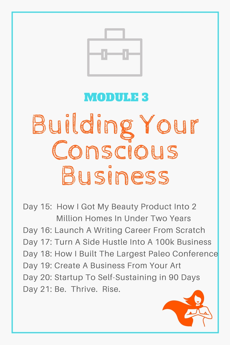 Module 3 - Building Your Conscious Business