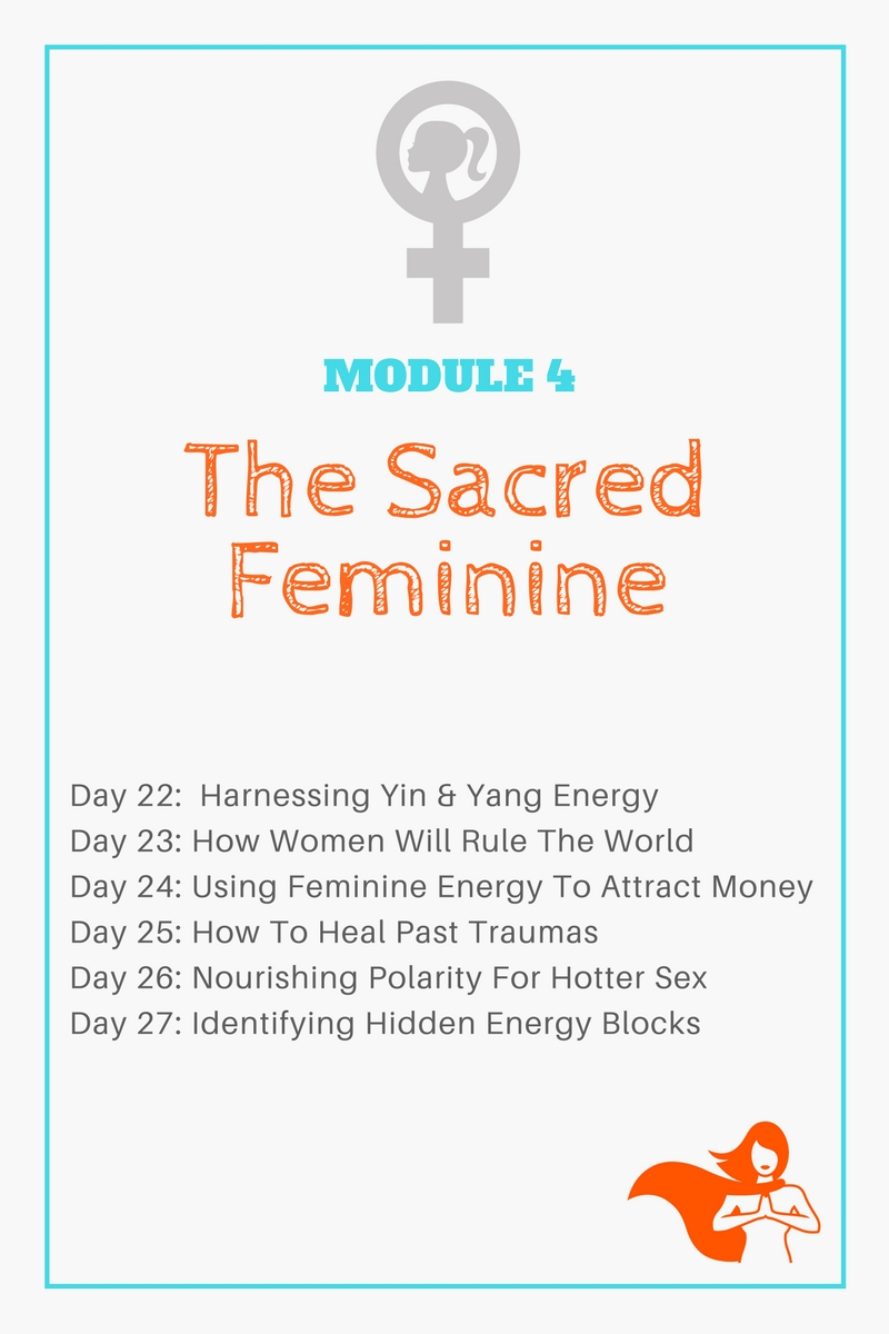 Module 4 - The Sacred Feminine