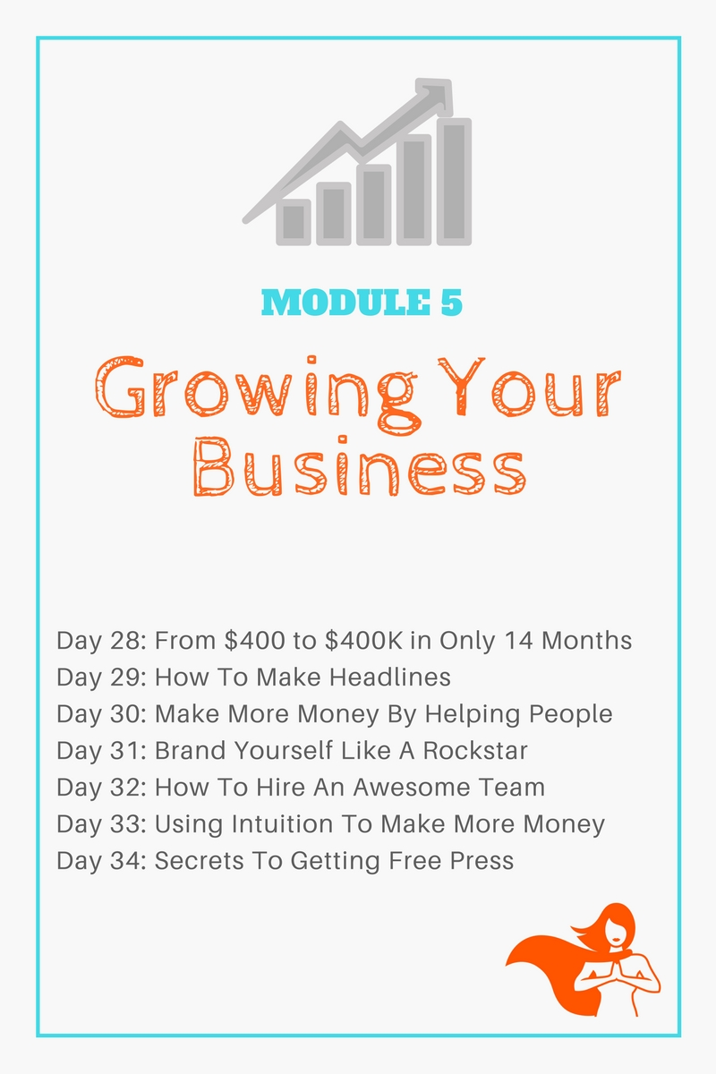 Module 5 - Growing Your Business