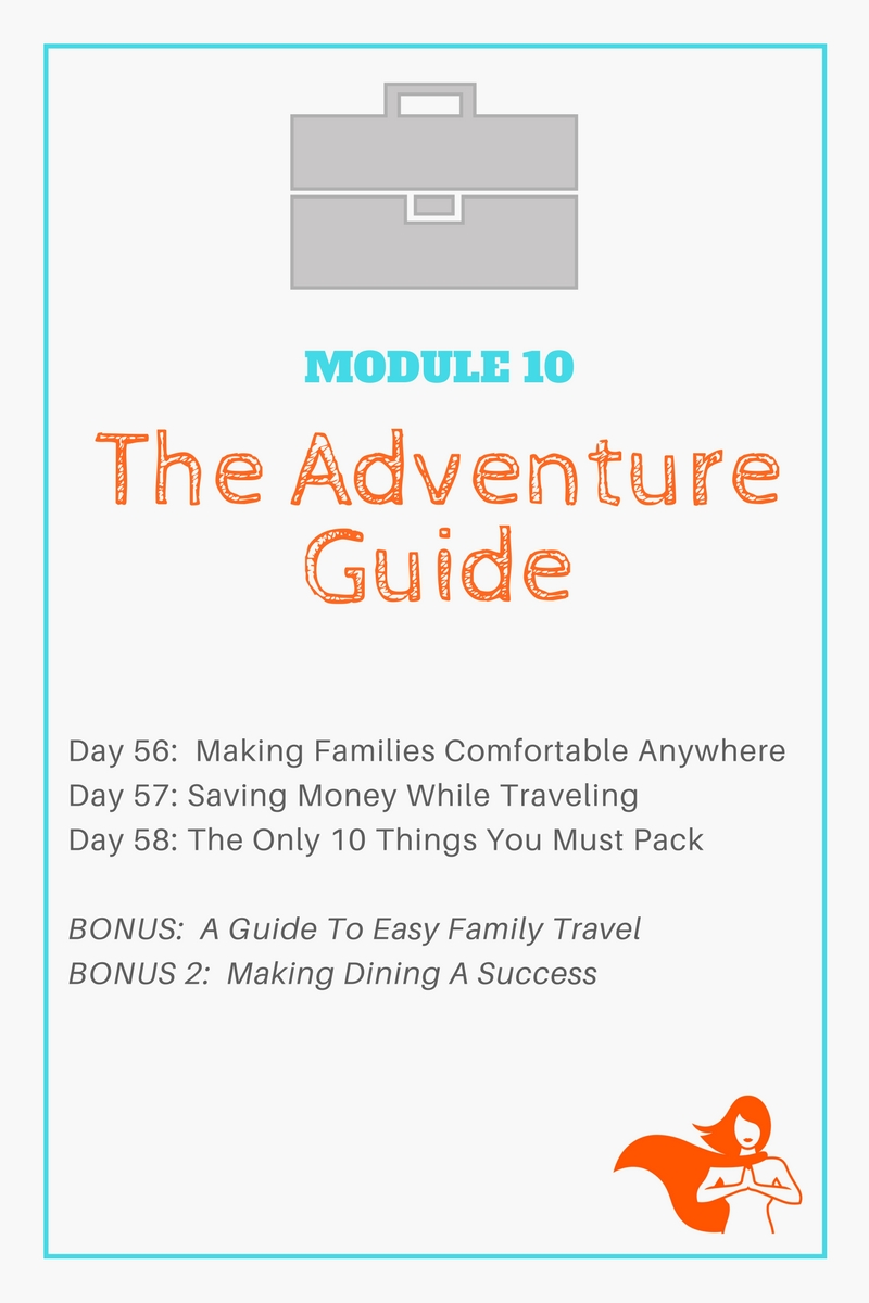 Module 10 - The Adventure Guide