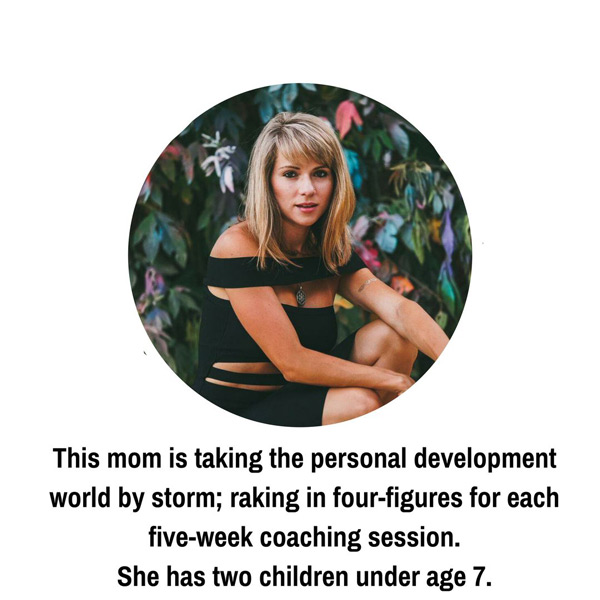 This mom is taking the personal development world by storm!
