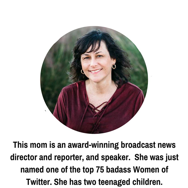 This mom is an award winning broadcast news director and reporter, and speaker